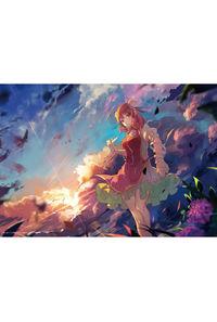 【イベント用】【東方幻想画廊】A4吸着ターポリン_白絲少年