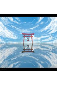 【イベント用】【東方幻想画廊】ロールスクリーン(幅1800×高1800mm)_千夜QYS3