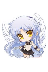 天使ちゃんアクリルキーホルダー