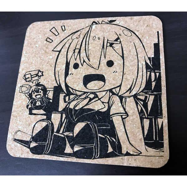社畜ちゃんコルクコースター [オウカソフト(結うき。)] オリジナル