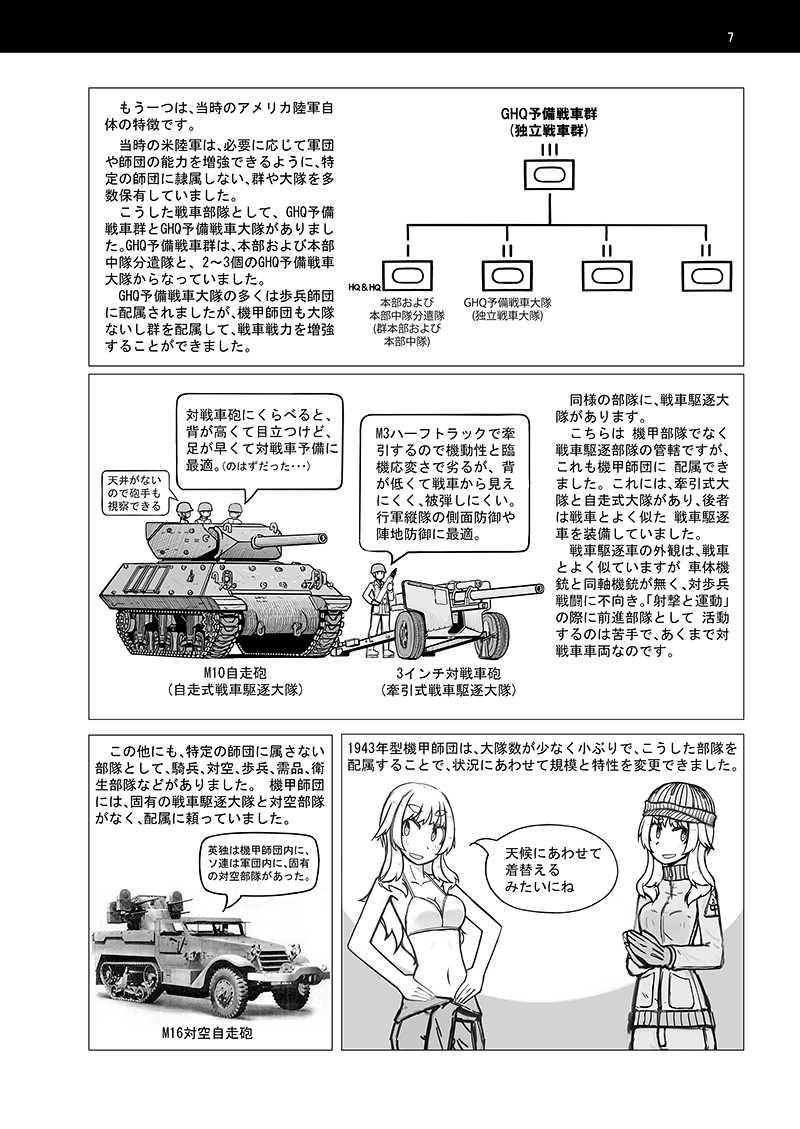 WW2 米軍野戦教範 機甲師団 上