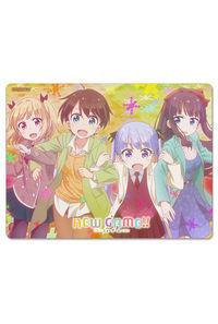 NEW GAME!! マウスパッド(吸着シート)(4人秋服)