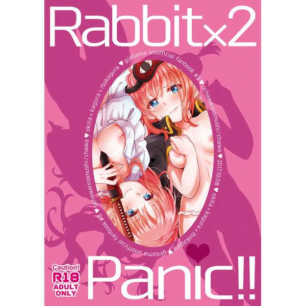 Rabbit×2 Panic!! [おちゃわんのむし(ちゃわ)] 銀魂