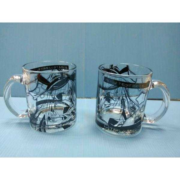 艦これ ビスマルク&グラーフ・ツェッペリン グラスマグカップ2個セット [PockyFactory(小林ちさと)] 艦隊これくしょん-艦これ-