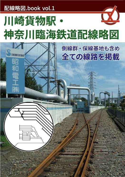 川崎貨物駅・神奈川臨海鉄道配線略図 [配線略図.net(きたまと)] 鉄道