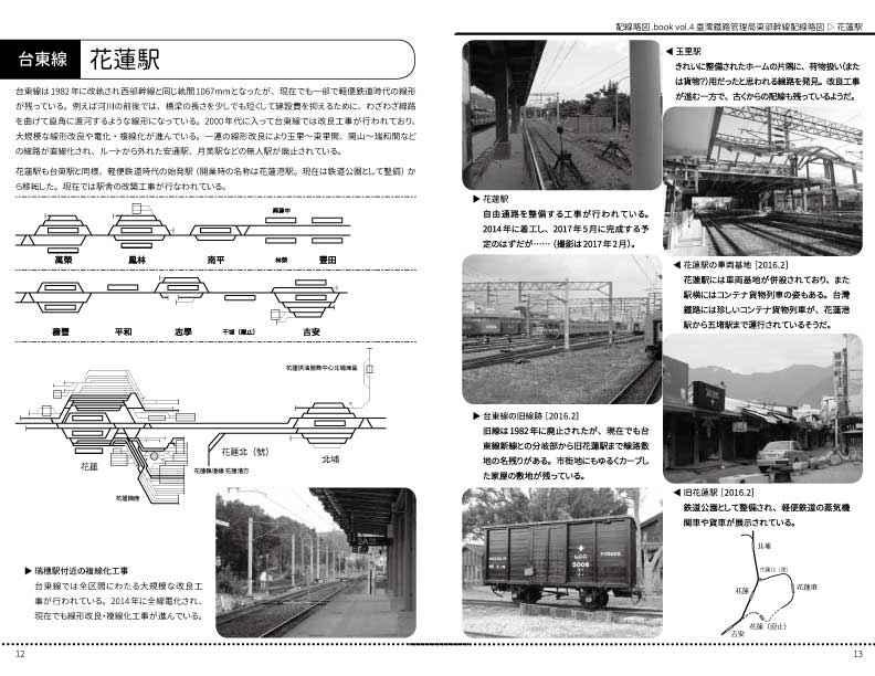 臺灣鐵路管理局東部幹線配線略図