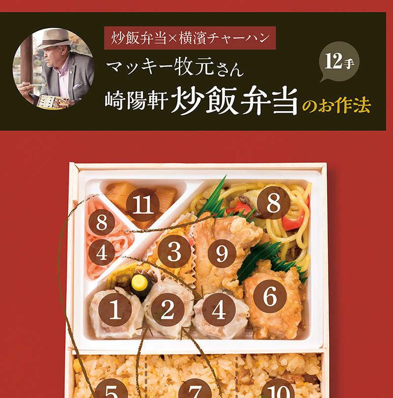 食べ方図説 崎陽軒シウマイ弁当編2
