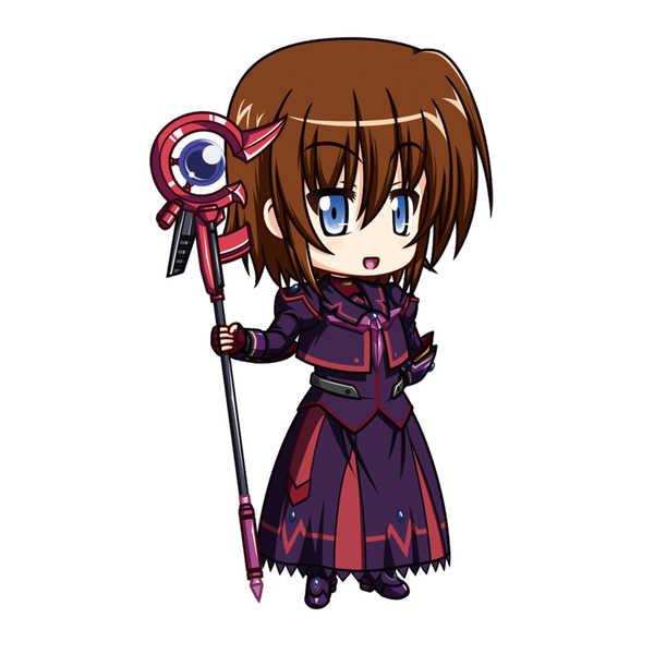 シュテル・ザ・デストラクター[ヒートスーツ]アクリルスタンド [パズライズ(halogen)] 魔法少女リリカルなのは