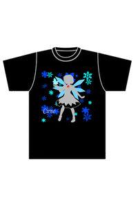 チルノ シルエットTシャツ XLサイズ