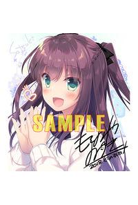 【限定購入特典】:サークル【FRAC】オリジナルキャラ複製サイン入り色紙