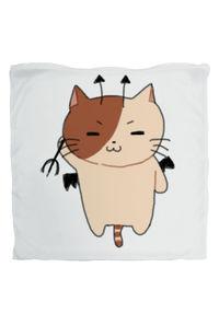 【クッションカバー】天使猫と悪魔猫クッション