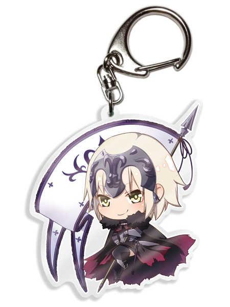 FGOキーホルダー ジャンヌダルク〔オルタ〕 [AbsoluteZero(月代)] Fate/Grand Order