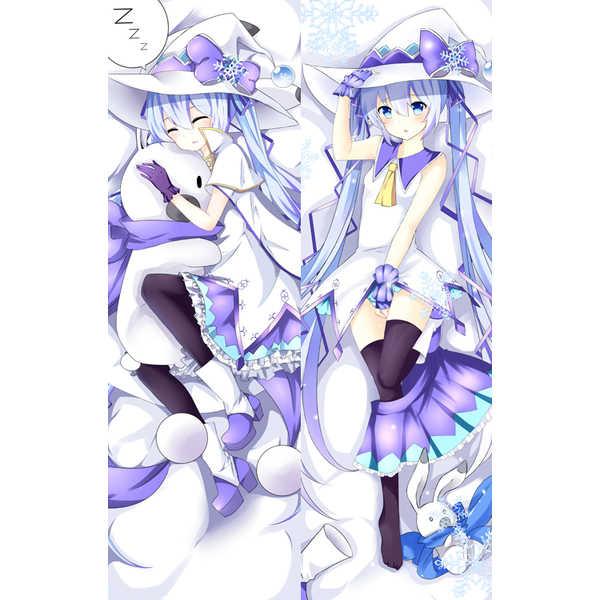 ボーカロイド 雪ミク 抱き枕カバー K【オマケ付】