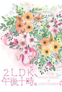 2LDK、午後十時。