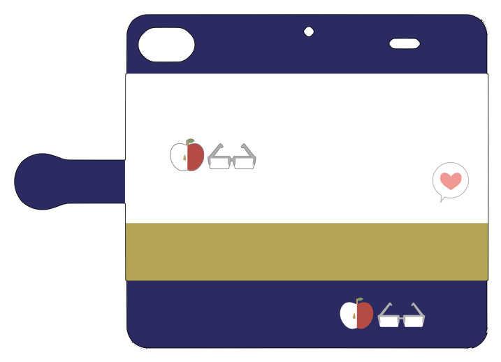 轟飯iPhone7ケース(手帳型)