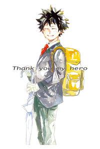Thank you my hero