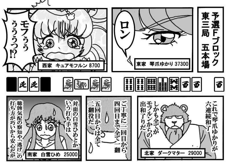 プリキュア麻雀アンソロジー ライジングスターズ!2☆ 鳥のツバサ