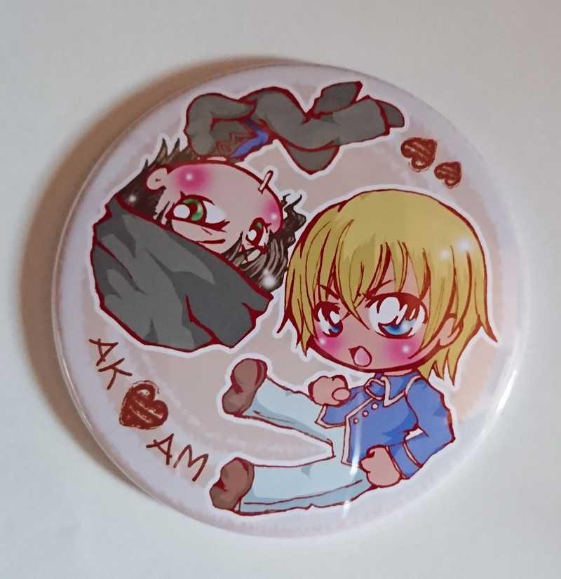赤安☆缶バッジミラー [うかれぽんtea(はやお)] 名探偵コナン