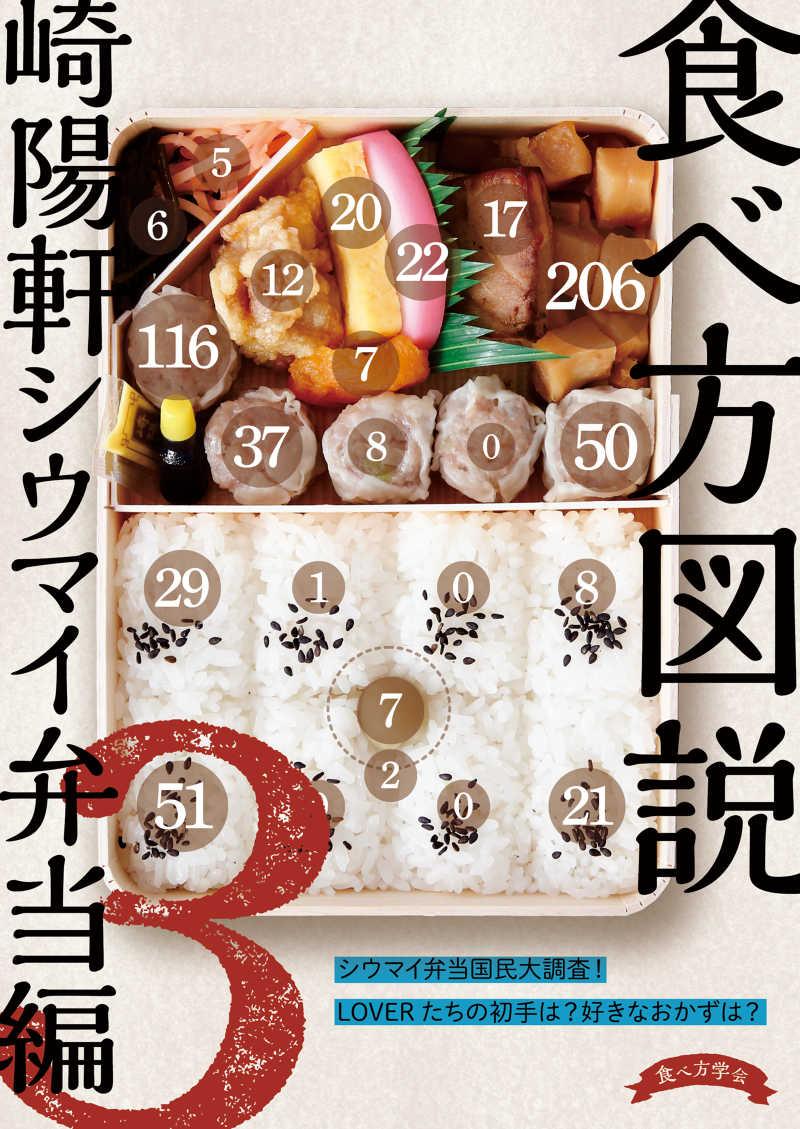 食べ方図説 崎陽軒シウマイ弁当編3 [食べ方学会(市島晃生)] 評論・研究