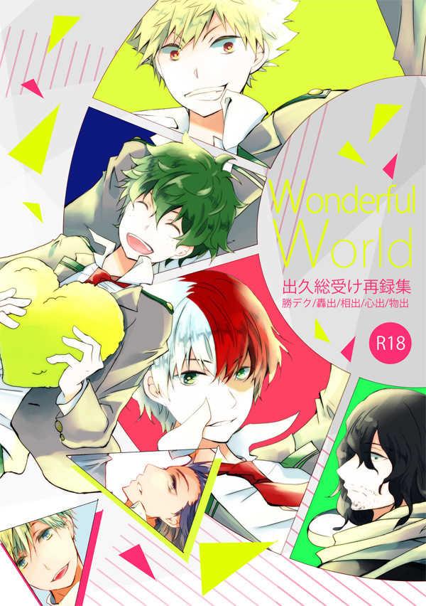 Wonderful World [como(日々)] 僕のヒーローアカデミア
