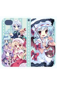 手帳型iphone6/7/8ケース紅魔郷Ver