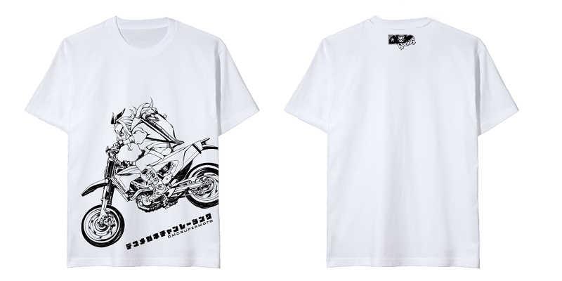 【でこメガネちゃんTシャツ】Mサイズ