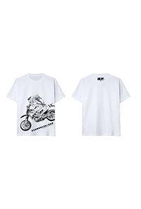 【でこメガネちゃんTシャツ】Lサイズ