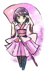 「桜降る代に決闘を」【ホノカ】アクリルフィギュア