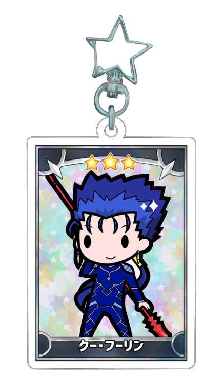 FGOアクリルキーホルダー【クー・フーリン】 [かじいちご(ゐた)] Fate/Grand Order