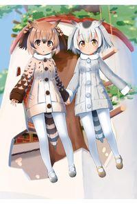 クリアファイル「コノハ博士&ミミちゃん助手」