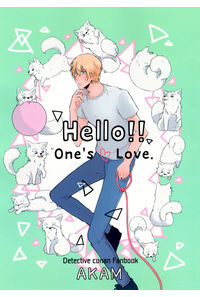 Hello!! one's Love.