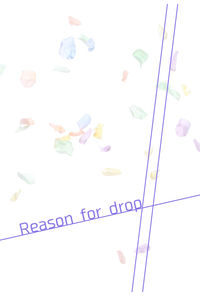 Reason for drop