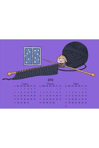 ちびニスポストカードカレンダーセット