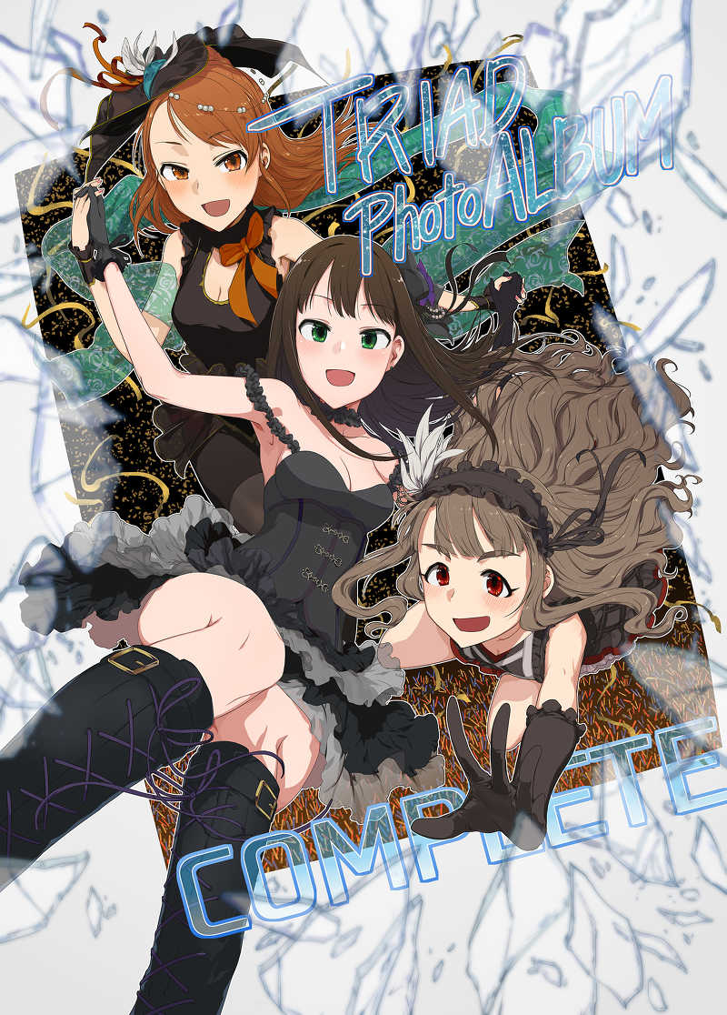 TRIAD PhotoALBUM COMPLETE [NAVY COFFEE(あお)] THE IDOLM@STER CINDERELLA GIRLS