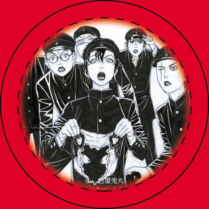 「ライチ☆光クラブ」限定缶バッジ 雷蔵&ニコ&デンタク&ダフ&タミヤ