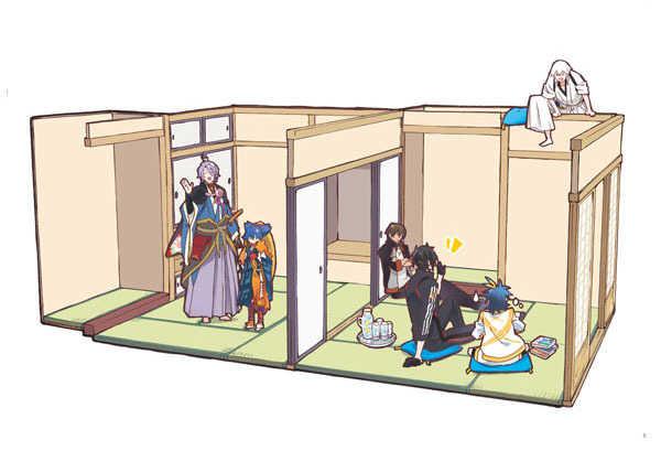 うちの刀剣男士のお部屋探訪3_ようこそ貞ちゃんうちの本丸へ編