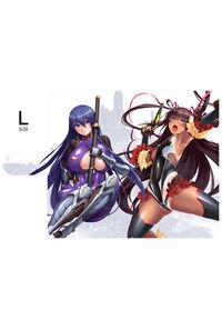 対魔忍RPG 手帳型スマホケース【ユキカゼ&凜子ver.】Lサイズ