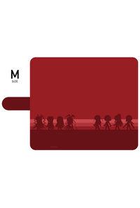 対魔忍RPG 手帳型スマホケース【シルエットver.】Mサイズ