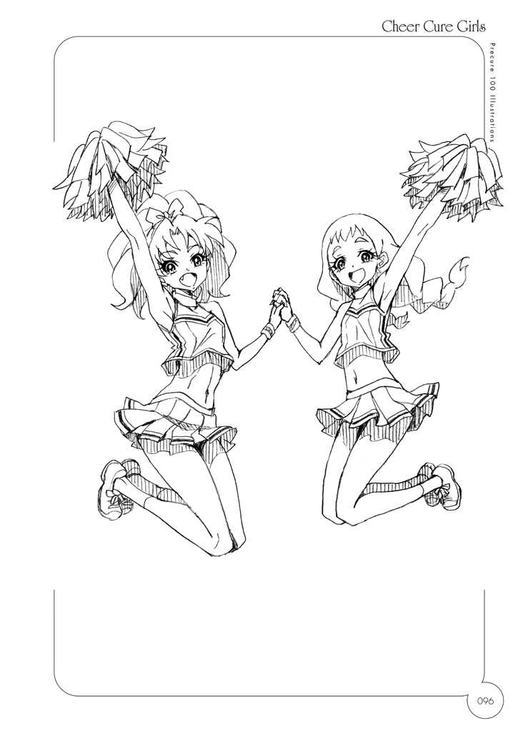100CURE Sp.2 Cheer Cure Girls