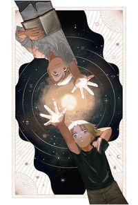 THE WHIRLING WAYS OF STARS THAT PASS タロットカードイラスト集  (一般販売/特典なし)