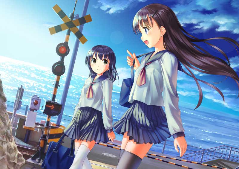 sailor railway ~セーラー服と鉄道の本
