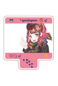 「ゆりしぃ☆とデート」アクリルキーホルダー秋冬編赤髪ロングVer
