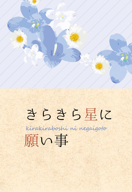 きらきら星に願い事 [echo(あられ)] 刀剣乱舞