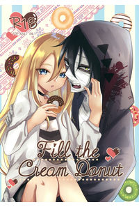 Fill the cream donut(缶バッジ2個セット)