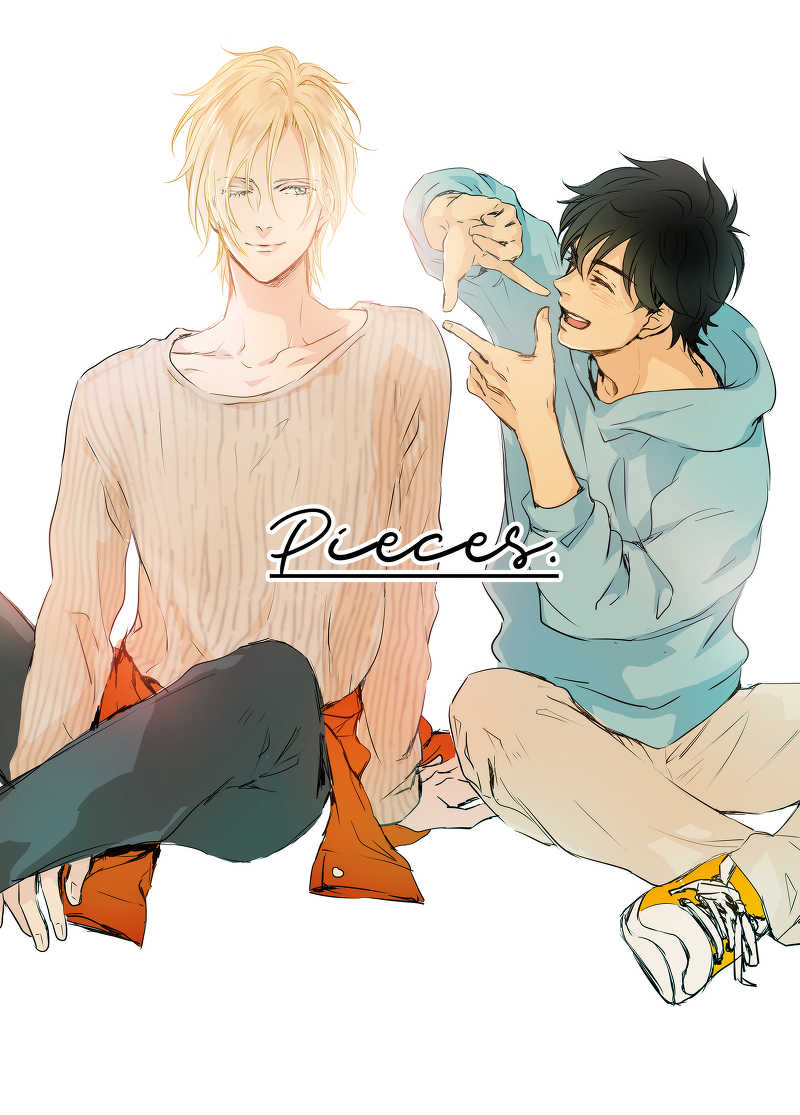 pieces [Longing Blue(コトリ)] BANANA FISH