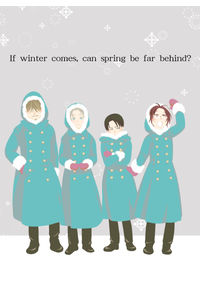 If winter comes , can spring be far behind?