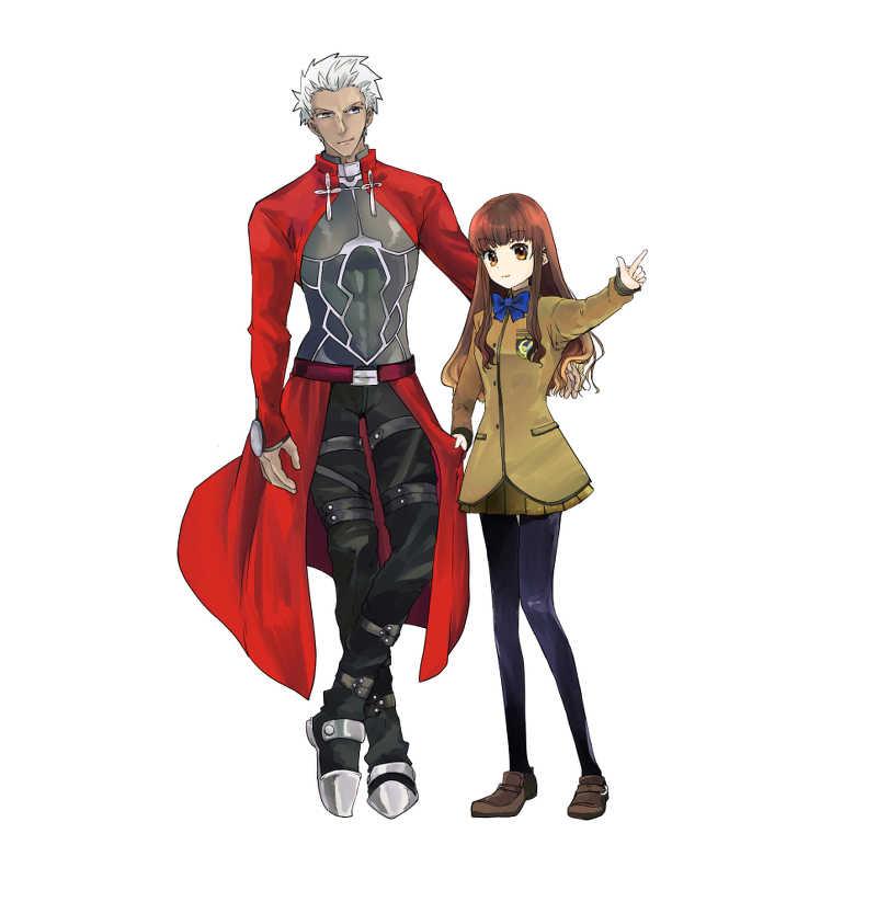 お出かけ弓女主アクリルスタンド [ソヨキング(そよき)] Fate