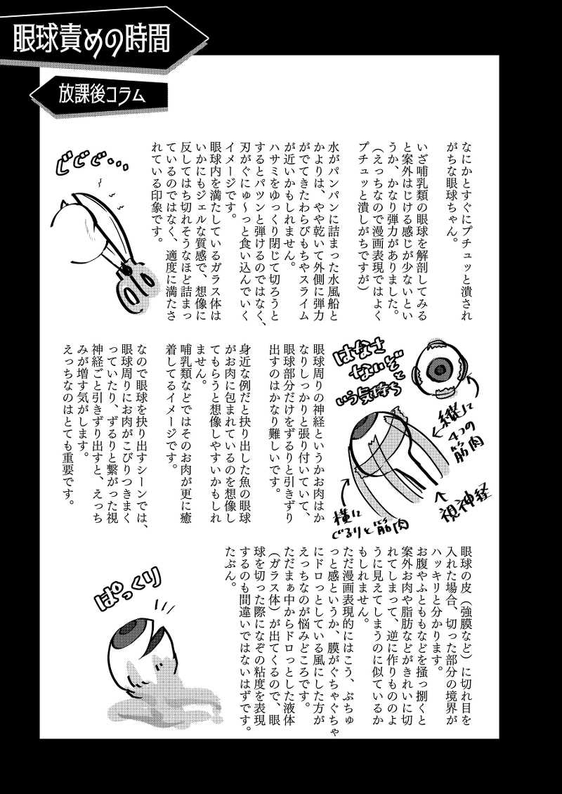 リョナ図鑑~指責め・眼球責め~