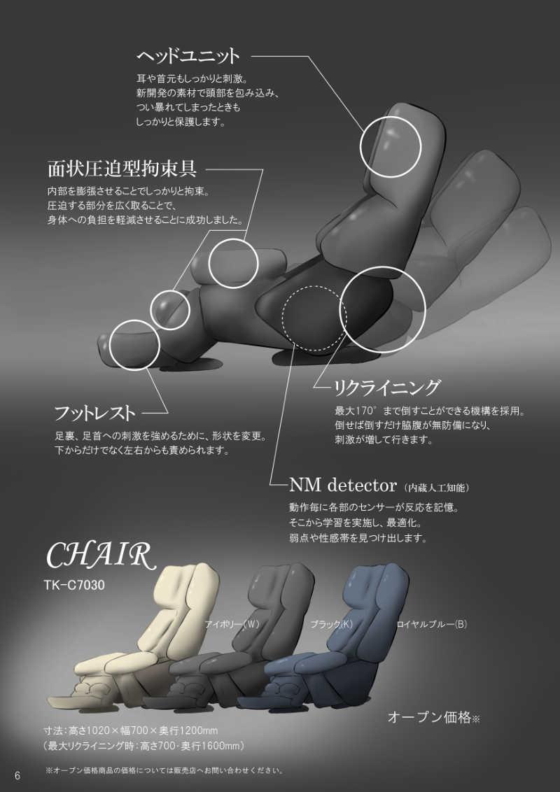 TK Series Namauni's Tickle Machine