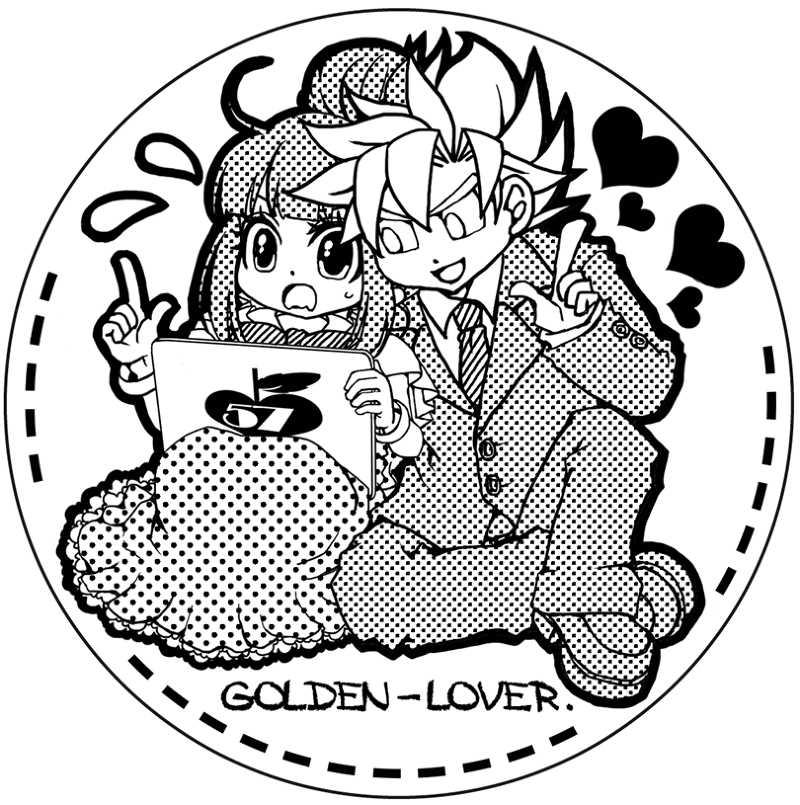 カカチチコルクコースター(B) [ゴールデンラバー。(ワユル)] ドラゴンボール